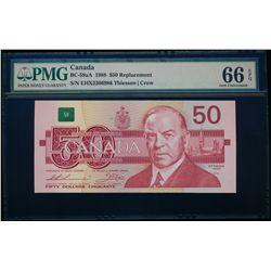 $50.00. 1988. BC-59aA. PMG GUNC-66 EPQ.