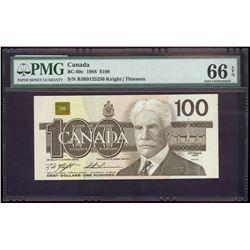 $100.00. 1988. BC-60c. PMG GUNC-66 EPQ.