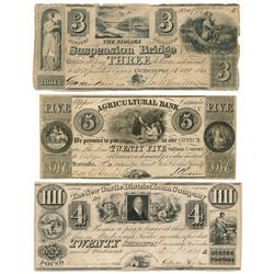 THE AGRICULTURAL BANK. (Toronto). $5.00. (25 Shillings). Dec. 1, 1835. C….