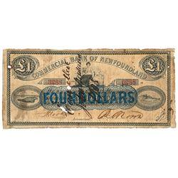 THE COMMERCIAL BANK OF NEW BRUNSWICK. St. John, New Brunswick. 2 Pounds.….