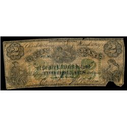THE UNION BANK OF PRINCE EDWARD ISLAND. $2.00. March 1, 1875. CH-755-14-….