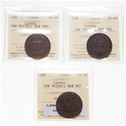 Breton-887.  NS-26A1.  Genuine British Copper.  1815.  1/2d.  Token.  ICCS …