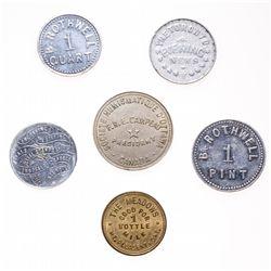 Breton-819.  B. Rothwell.  1 Pint.  Alum.  AU;  Breton-820.  B. Rothwell.  …