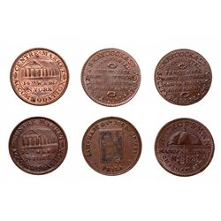 HARD TIMES TOKENS.  S. Maycock & Co., 1837. HT#290;  Saml. Hart & Co. Penna…