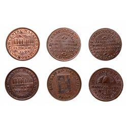HARD TIMES TOKENS.  S. Maycock & Co., 1837. HT#290;  Saml. Hart & Co. Penna…