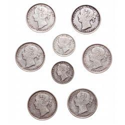 Ten Cents.  1862,  1864.  Both Very Good-8;  Twenty Cents.  1862-1864.  All…