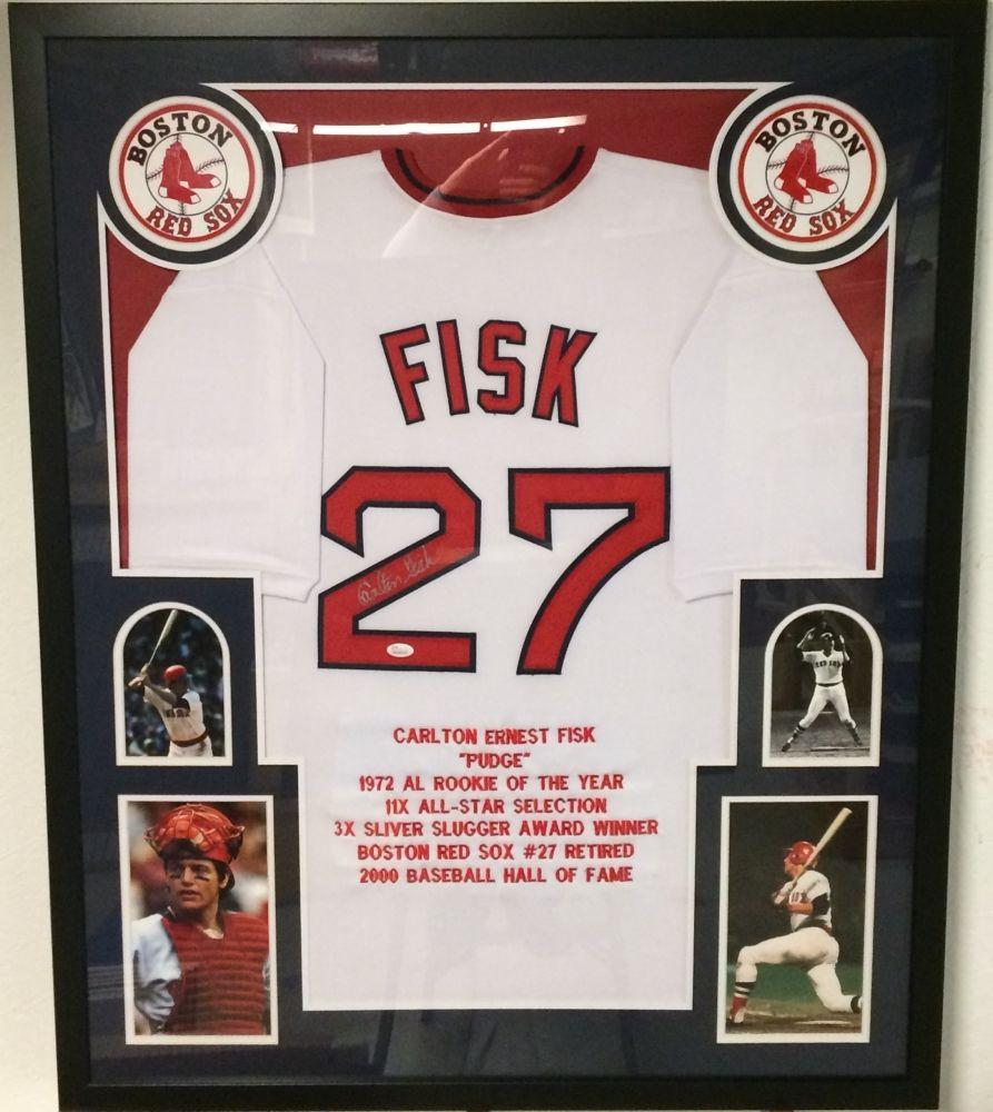ba39b3ebb Image 1 : Carlton Fisk Signed Red Sox 35