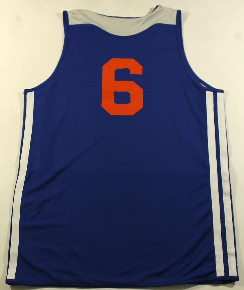 online store 3445b 7d695 Tyson Chandler Knicks Game Issued / Used Practice Jersey ...