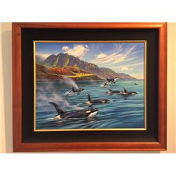 Orcas in Paradise - Patrick Ching 2012