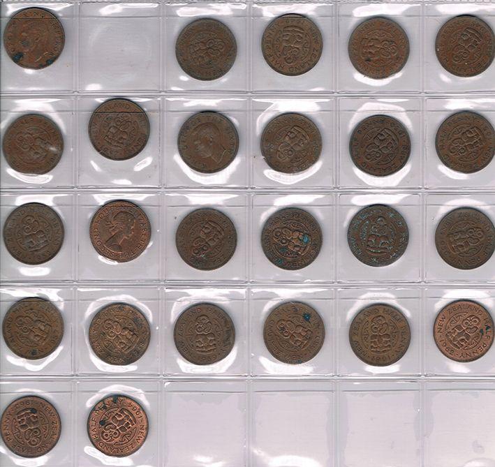 New Zealand Pre Decimal Coin Sets