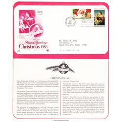 Season's Greetings Christmas 1983