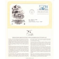 Migratory Bird Hunting and Conservation Stamp Act 1934-1984