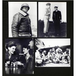 4 WWII Photos - George Patton, Soldier, Tuskegee