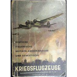 "RARE NAZI ""KRIEGSFLUGZEUGE"" ENEMY WAR PLANE BOOK"