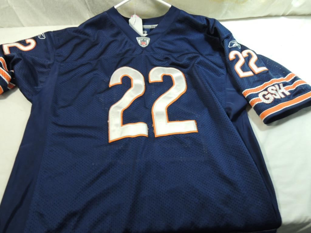new products 60d42 bb6e3 REEBOK CHICAGO BEARS FORTE #22 JERSEY