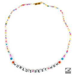 "Hero ""World's Best Mom"" Necklace worn by Miss Hannigan as portrayed by Cameron Diaz in Annie"