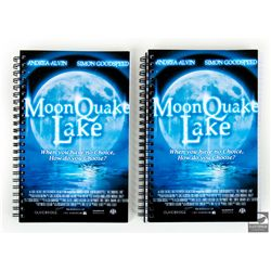 "Set of 2 Used Prop ""Moon Quake Lake"" Notebooks from Annie"