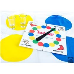 Miss Hannigan's Twister Game and Shot Glasses from Annie