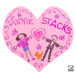"""Annie Loves Stacks"" Heart Cards from Annie"