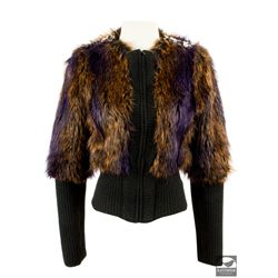 Custom-made Miss Hannigan Faux Fur Jacket from Annie