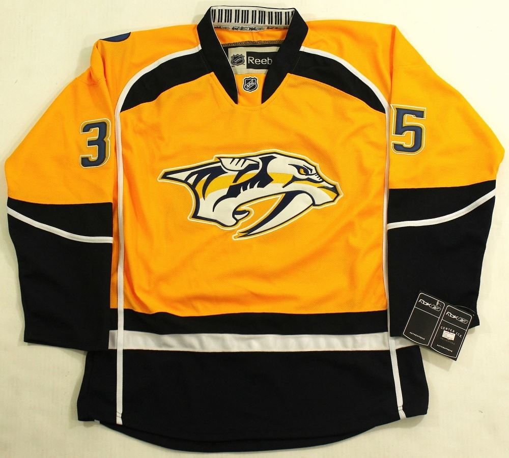 sneakers for cheap d7d4e 0e3fa Pekka Rinne Signed Predators Jersey (PSA COA)