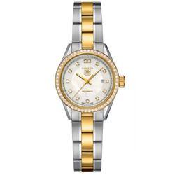 215-10021:Tag Heur ladies Carrera quartz watch