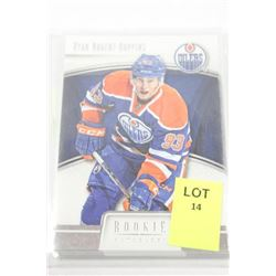 RYAN NUGENT HOPKINS ROOKIE ANTHOLOGY CARDS X9