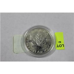 MAPLE LEAF PURE SILVER 1oz COIN