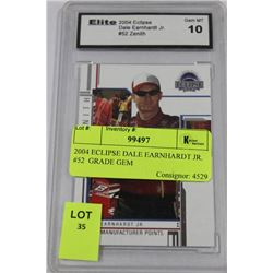 2004 ECLIPSE DALE EARNHARDT JR. #52  GRADE GEM