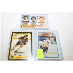 1976-91 HOCKEY CARDS X3