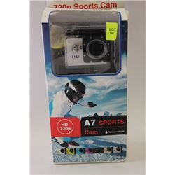 NEW HD WATERPROOF SPORTS CAM WITH MOUNTS