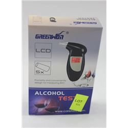 NEW DIGITAL ALCOHOL BREATH TESTER