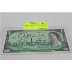 1967 CENTENNIAL $1 NOTE WITH S/N