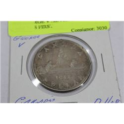 1935 GEORGE V SILVER DOLLAR, CANADAS FIRST