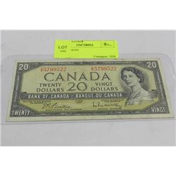 1954 $20 NOTE