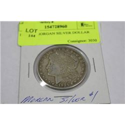 1921 'D'  MORGAN SILVER DOLLAR