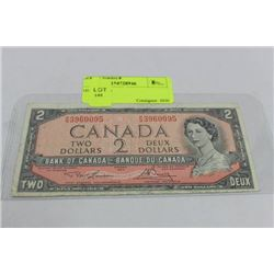 1954 $2 NOTE