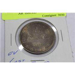 1936 GEORGE V SILVER DOLLAR, LAST YEAR  ISSUED