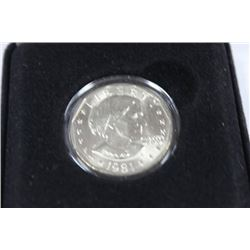 1981 PROOF, US SUSAN B. ANTHONY $1