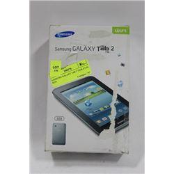 SAMSUNG GALAXY TAB 2 TABLET IN BOX