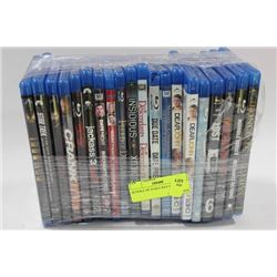 BUNDLE OF 20 BLU-RAY DVD'S