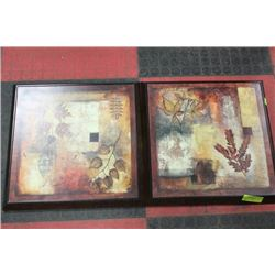 PAIR OF SHOWHOME WALL HANGINGS CANADIAN MADE