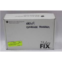 BEACHBODY 21 DAY FIX NEW EXERCISE PROGRAM