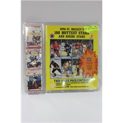 UNOPENED 1990-1992 HOCKEY CARD COLLECTION