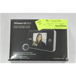 "IVIEWER 03 ECO 3"" DOOR VIEWER SCREEN"