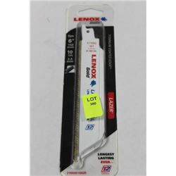 "PACK OF 5 LENOX 6"" METAL BLADES"
