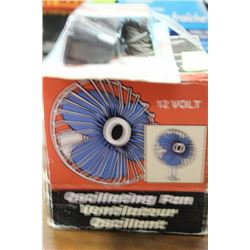 12V OSCILLATING FAN SOLD WITH 3RD BRAKE LAMP FIT