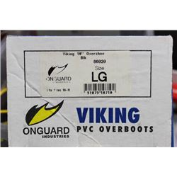 VIKING PVC OVERBOOTS DESIGNED TO FIT OVER WORK