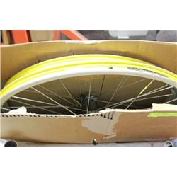 SET OF MAVIC PERFORMANCE RIMS MADE IN FRANCE 19""
