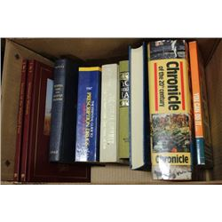 BOX OF ASSORTED BOOKS
